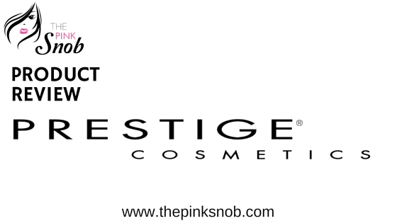 Review: Prestige cosmetics