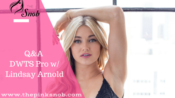 DWTS Pro Lindsay Arnold Interview
