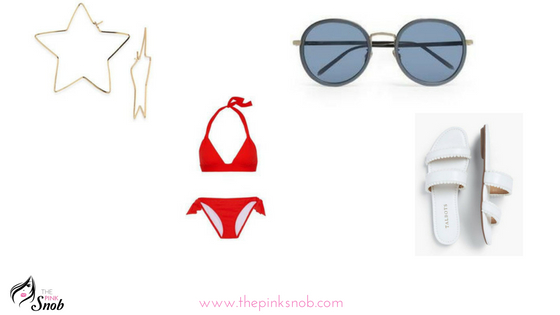 What to wear pool side for July 4th!
