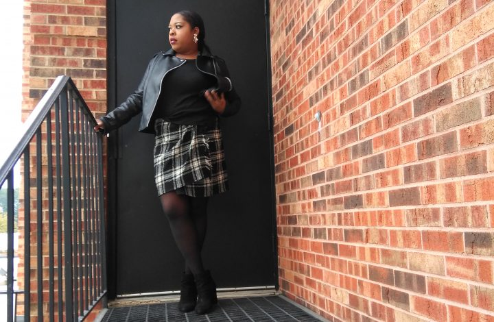 Fashion Round up-Plaid mini skirts.